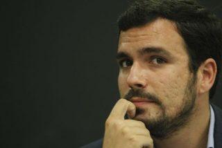 El sectario Alberto Garzón alerta a sus compinches del desgaste de Unidos Podemos