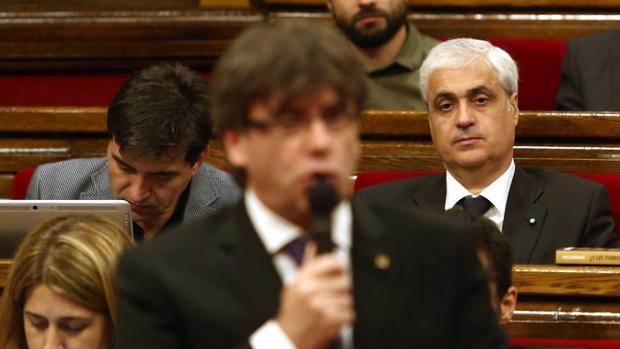 Germà Gordó abandona el PDECat pero se aferra como lapa al escaño de diputado