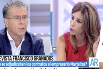 Granados, a degüello con Ana Terradillos por lanzarle sus chanchullos a la cara