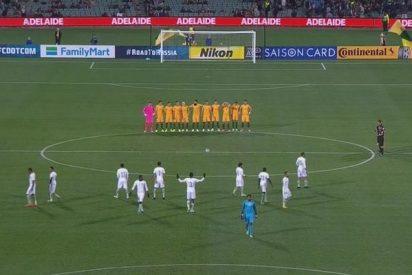 Los jugadores de la selección de Arabia Saudita ignoran el minuto de silencio por las víctimas de Londres