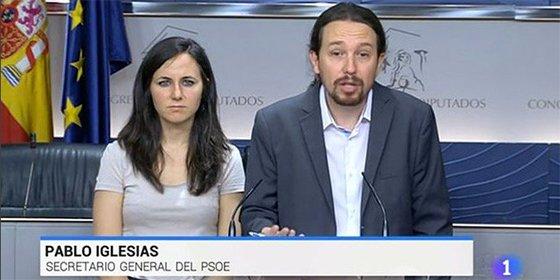 El divertido desliz de TVE: convierte a Iglesias en el líder del PSOE