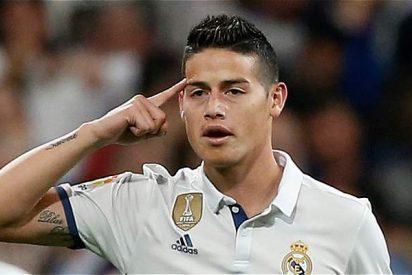 Florentino Pérez frena la salida de James Rodríguez con un pacto 'a espaldas' del colombiano