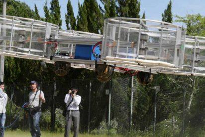 [VÍDEO] Este es el coche volador que puede encender la llama de los Juegos Olímpicos de Tokyo 2020