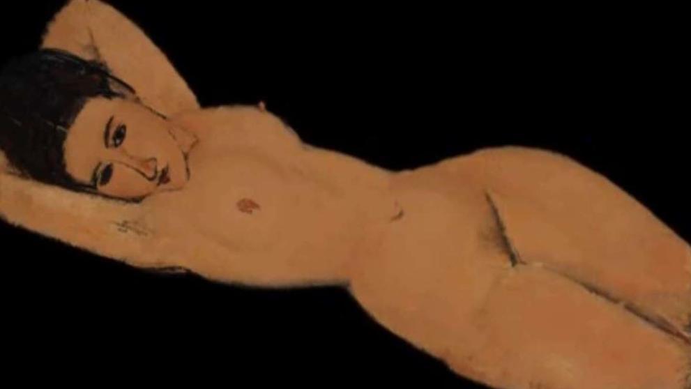 Los idiotas de Facebook censuran el 'Desnudo recostado' de Modigliani