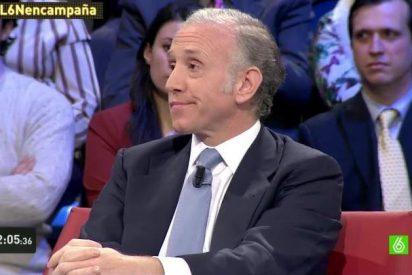 Bronca épica entre Eduardo Inda y Ramón Espinar en 'La Sexta Noche'