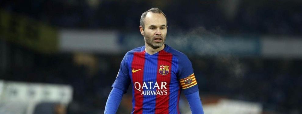 ¡Iniesta no renovará! El pacto sorpresa con el Barça