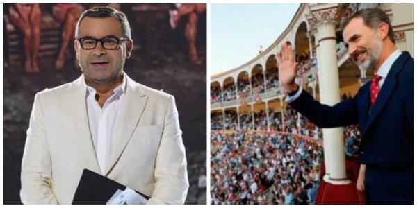 Twitter descabella a Jorge Javier Vázquez tras criticar a Felipe VI por ir a los toros