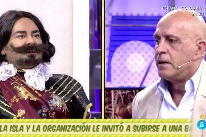 'Sálvame': Jorge Javier 'apuñala' a Matamoros sin piedad