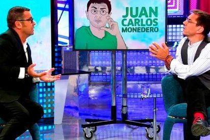 Esperpéntica bronca entre Monedero y Jorge Javier Vázquez en el 'Deluxe'