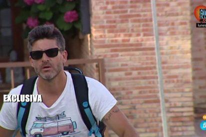 Toño Sanchís pierde los papeles y se encara con un reportero de Telecinco
