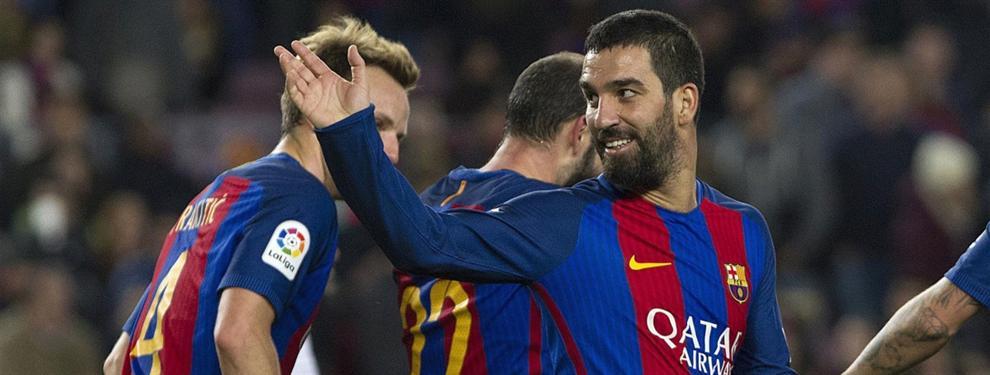 La 'broma' de Arda Turan que arrasa en el Barça... y en la Premier League
