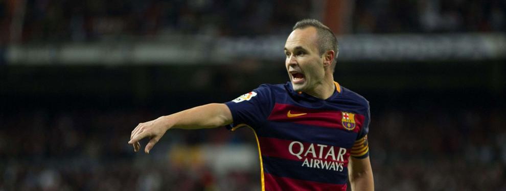 La llamada de Iniesta a la Juventus que sorprendió al Barça