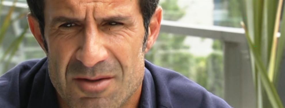 La llamada de Luis Figo a Florentino Pérez tras meter la pata hablando de Cristiano Ronaldo