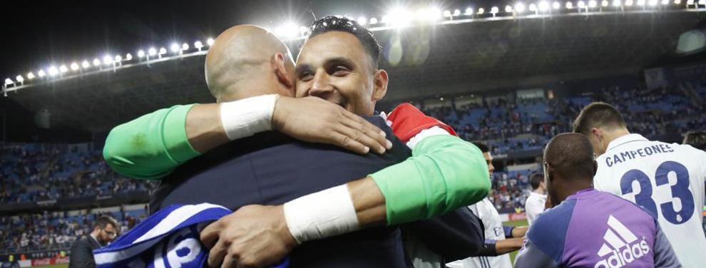 La sorpresa bestial que Keylor Navas le tiene preparada a Zidane (y al Madrid) como agradecimiento