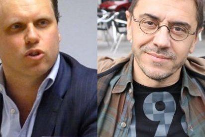 Monedero se pone a jugar a economista con el caso del Popular y Daniel Lacalle le baja de su nube populista