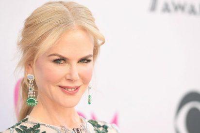 Así de rara tiene la cara Nicole Kidman al cumplir 50 años