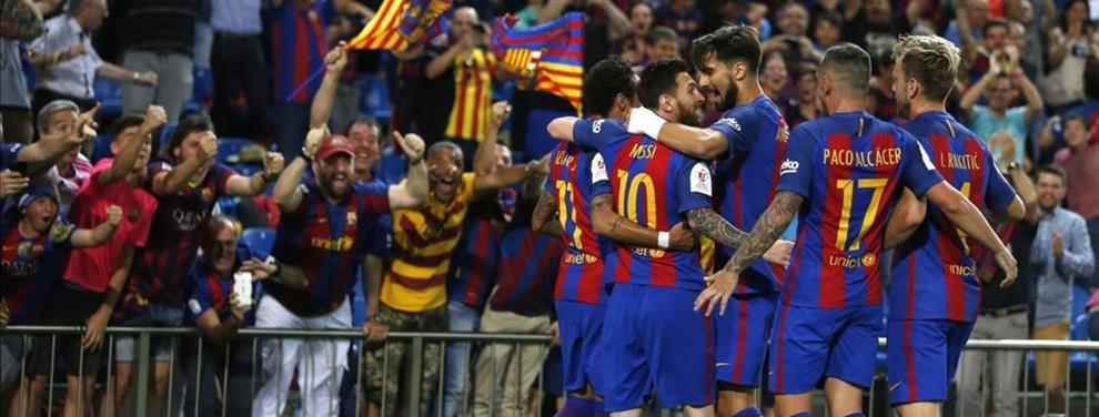 Las fotos de un jugador del Barça que montan un lío terrible en el Camp Nou