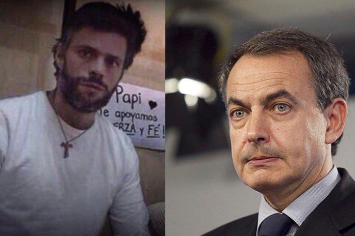 [VÍDEO] El mensaje de Leopoldo López tras visitarle el cenizo de Zapatero