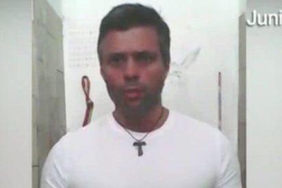 Leopoldo López pide a los militares venezolanos que se rebelen contra el régimen chavista