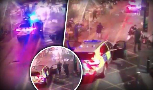 [VÍDEO] Así mató la policía británica a los tres terroristas ¡pegándoles 50 tiros!