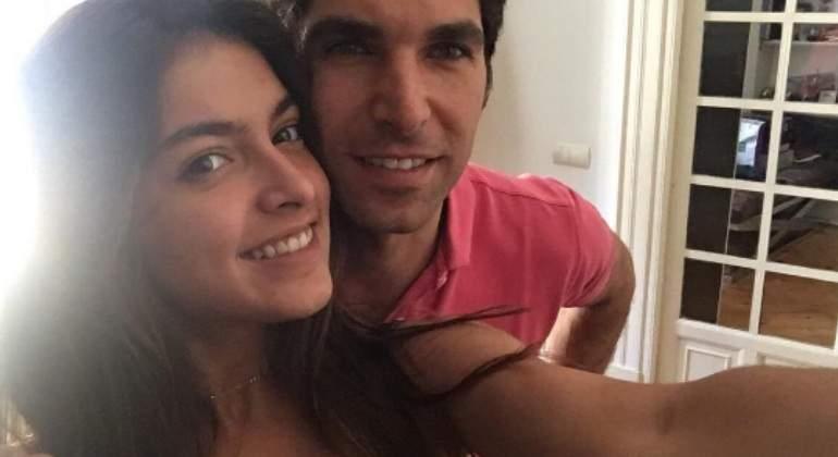 Cayetano Rivera y su hija Lucía se reencuentran en Madrid tras un año sin verse