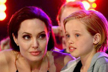 La noticia de que la hija biológica de Brad Pitt y Angelina Jolie ha cambiado de sexo es un bulo