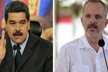 Miguel Bosé logra que el patán de Maduro se ponga hecho un gorila