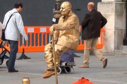 [VÍDEO] Así es cómo consiguen levitar los artistas callejeros