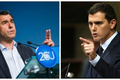 Saltan chispas entre el PP y C's: Maíllo amenaza a Rivera con destapar lo que saben sobre los viajes de su tesorero a Brasil