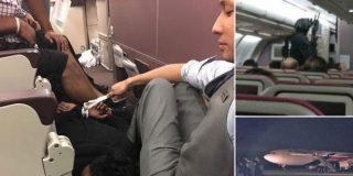 [VÍDEO] Los heroicos pasajeros que detienen al terrorista que quería hacer volar un avión de Malaysia Airlines