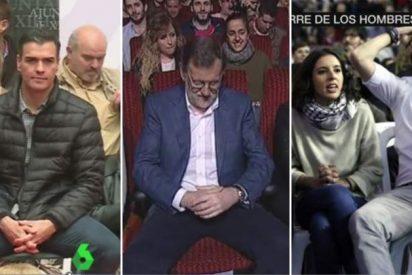 'Manspreading': Los políticos españoles también se 'despatarran' en las sillas