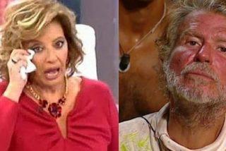 María Teresa Campos le declara su amor a Bigote el día que Telecinco se hunde en el caos