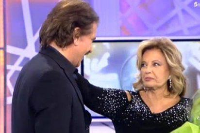 El tremendo rebote de Bigote Arrocet al conocer a toro pasado el ictus de María Teresa Campos