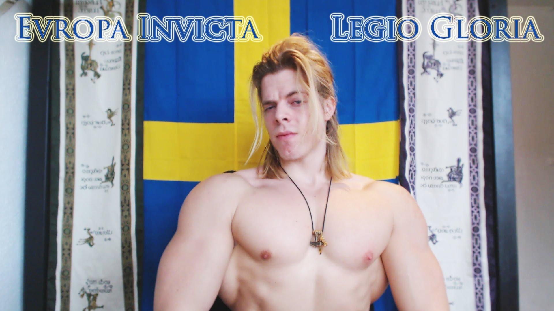 [VÍDEO] El terrible 'Hulk' sueco que deja KO a dos musulmanes por chuletas