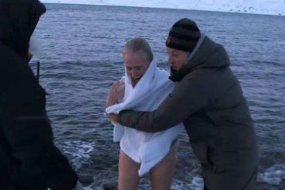 El desnudo integral y los pensamientos suicidas de Mercedes Milá dejan en shock a Calleja