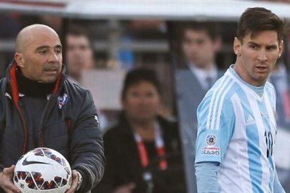 Messi pide ayuda a Jorge Sampaoli para acabar con Cristiano Ronaldo