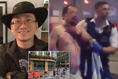 [VÍDEO] El periodista experto en artes marciales que dio de hostias a los terroristas de Londres