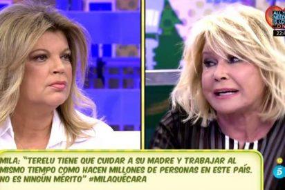 La bajada de pantalones vergonzosa de Mila Ximénez ante Terelu Campos