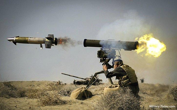 [VÍDEO] El misil iraquí que manda con Alá a una pandilla de yihadistas del ISIS