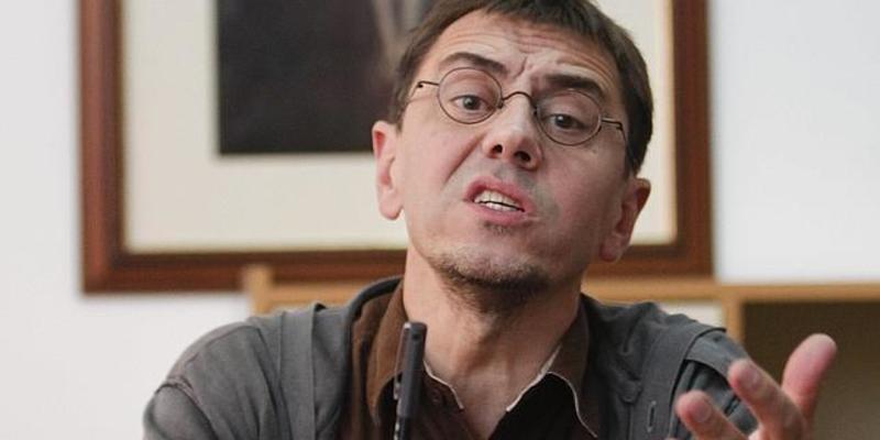 El miserable de Monedero se queja porque la muerte de Fandiño abra los telediarios