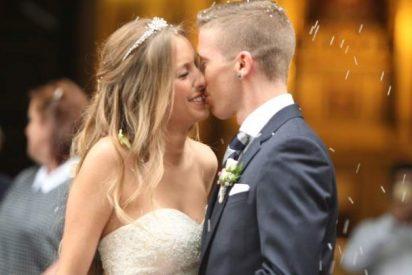 El futbolista del Athletic Iker Muniain se ha casado