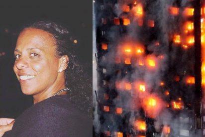 Natasha Elcock, la superviviente del incendio en Londres que salvó la vida inundando el baño