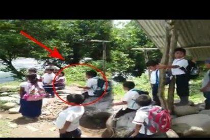 [VÍDEO] Mira lo complicado que es ir al colegio en Sudamerica para algunos niños