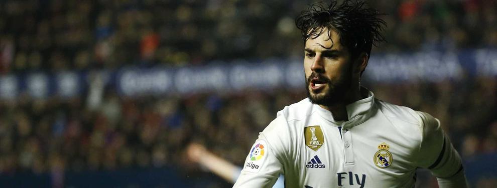 ¡Ojo! La llamada que pone en peligro la renovación de Isco por el Real Madrid
