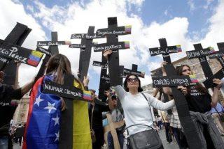 Miami y Madrid proponen crear el 'Día de los mártires de la libertad en Venezuela'