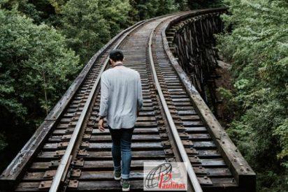 'El hombre que esquivaba los trenes'