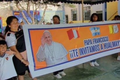 La parroquia peruana de Hualmay invita al Papa Francisco