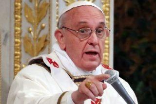 """El Papa carga contra la corrupción, """"blasfemia"""" y """"cáncer que destruye nuestras vidas"""""""