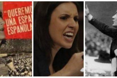 Mensaje a 'La Pasionaria' de Podemos: Clara Campoamor defendía a España, tú solo quieres destruirla