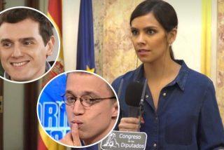 'Dentro de': El curioso encuentro de Pedroche con Errejón y Albert Rivera en el Congreso de los Diputados